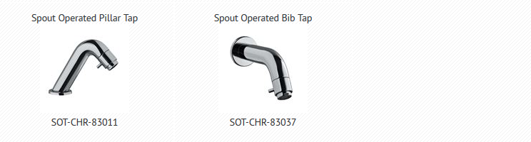 Spout Operating Tap