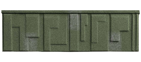 Fortiza Shingle Tile Green